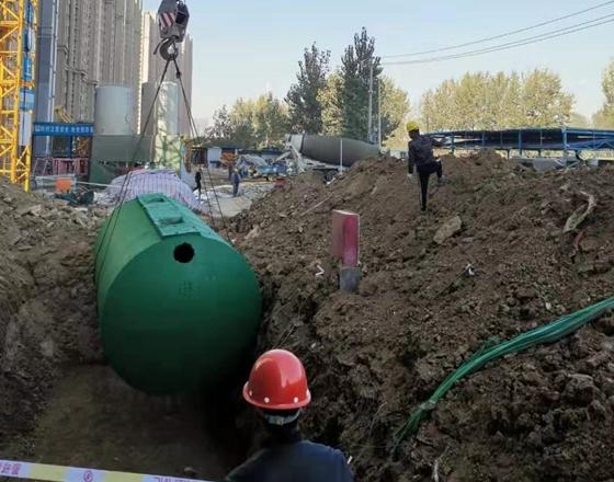 混凝土整体式化粪池